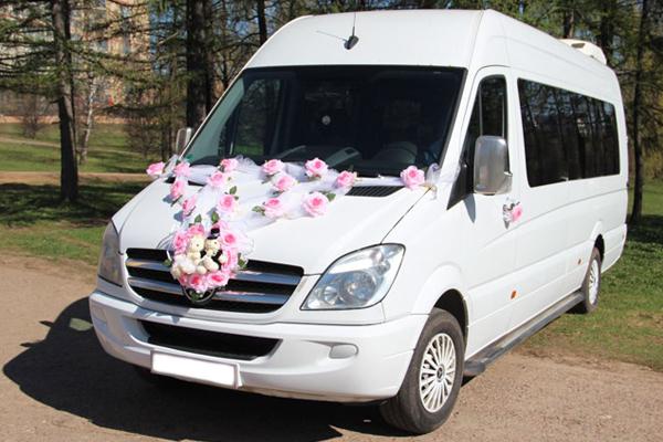аренда автобуса и микроавтобуса на свадьбу