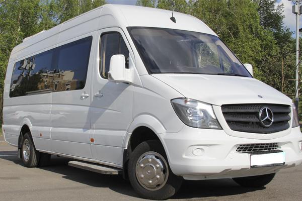 Аренда микроавтобуса с водителем в Харькове