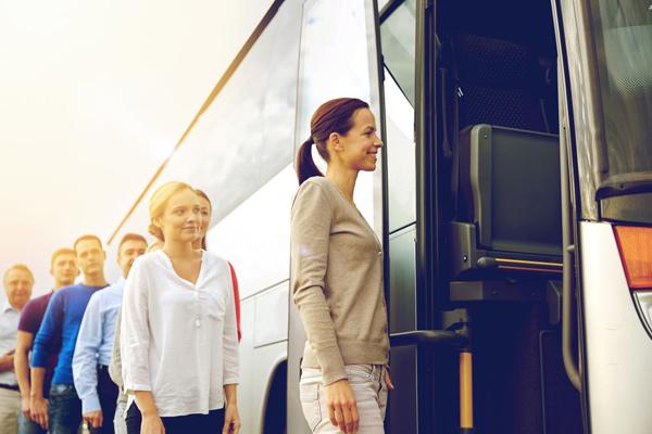 Доставка сотрудников автобусом по Харькову