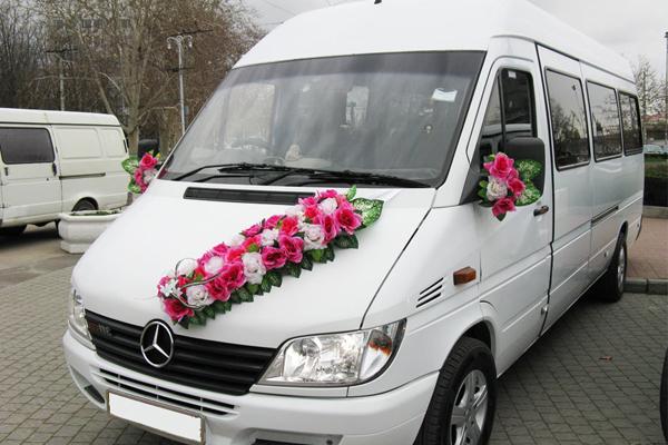 заказ автобуса и микроавтобуса на свадьбу