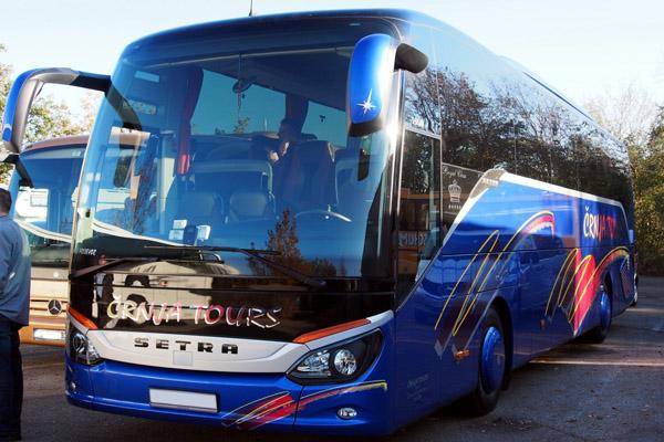 автобус Новомосковск Геническ
